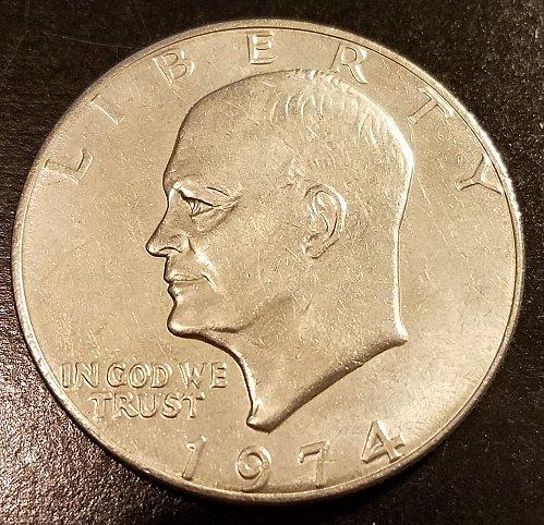 1974 Eisenhower Dollar (6406)