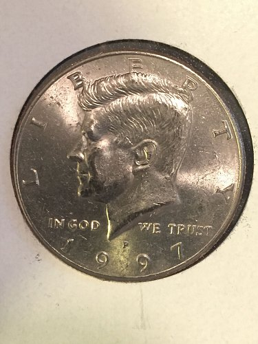 1997 P Kennedy Half Dollars