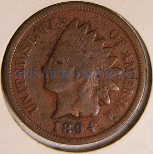 1894 Indian Head Cent Good