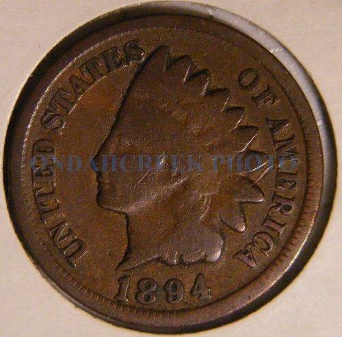 1894 Indian Head Cent Good