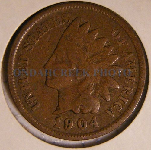1904 Indian Head Cent VG