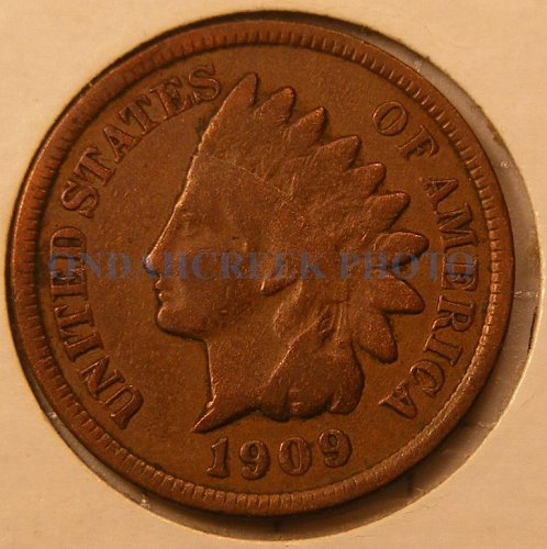 1909 Indian Head Cent VG