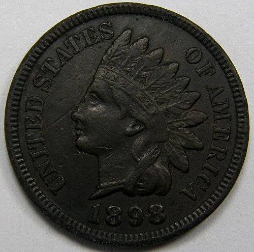 1898 Indian Head Cent #8