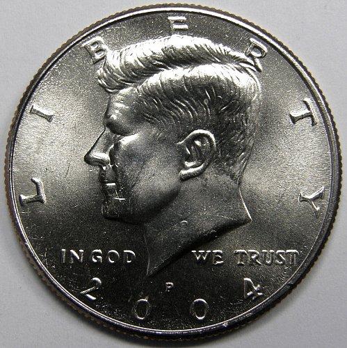 2004 P Kennedy Half Dollar#1