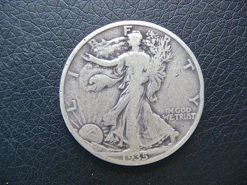 1935 Walking Liberty Half Dollar