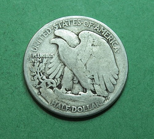 1927 S Walking Liberty Half Dollar    f18u