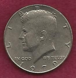 US $ Half Dollar 1979 - Kennedy Half