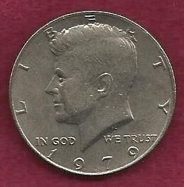 US $ Half Dollar 1979 - Kennedy Half