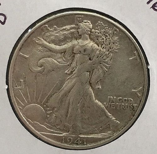 1941 D Walking Liberty Half Dollar