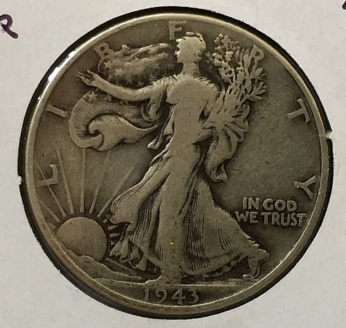 1943 S Walking Liberty Half Dollar