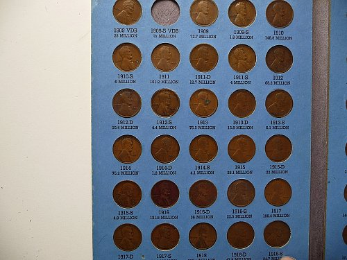 Lincoln Cent Set  1909 - 1940