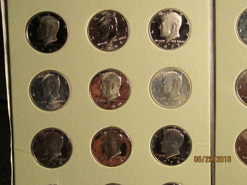 24 BRILLIANT UNC.MINT KENNEDYS INCLUDES 7 DEEP CAMEO PROOFS!!