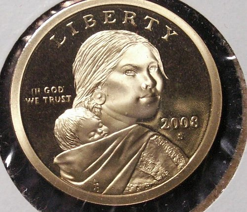 2008 S Sacagawea Dollar Proof