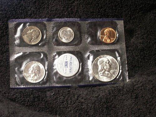 1959 Mint Set  Low Mintage