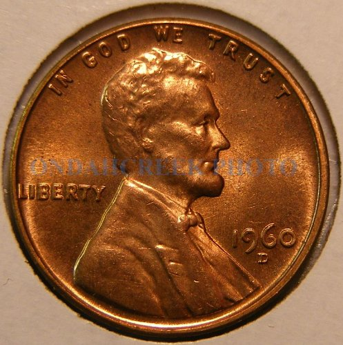 1960-D Lincoln Cent RPM #1 FS-502 Choice BU Plus