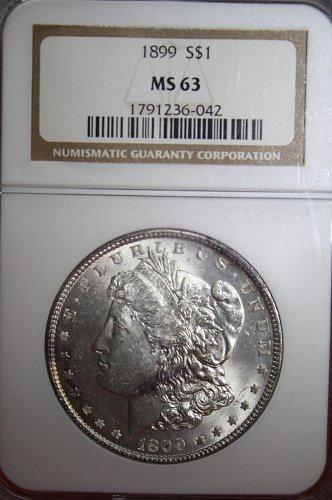1899 P Morgan $1