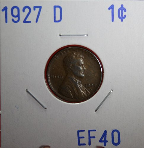 1927 D Lincoln Wheat Cent