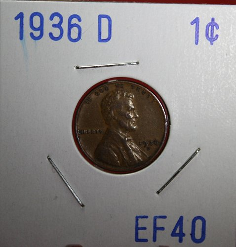 1936 D Lincoln Cent
