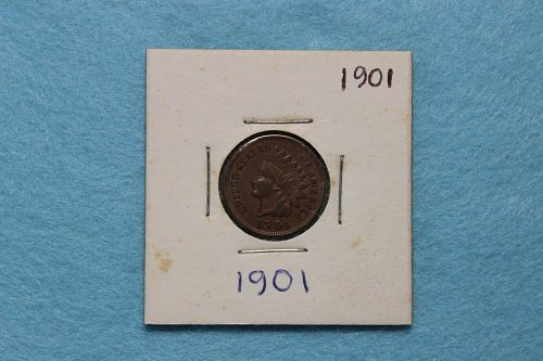 1901 P Indian Head Cent