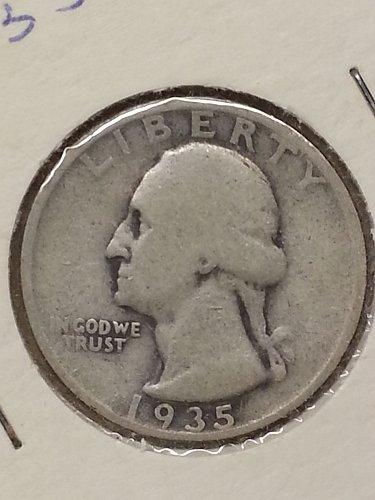 1935-D Washington Quarter