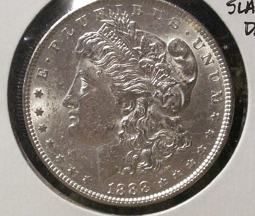 1888 Morgan Silver Dollar Vam 1