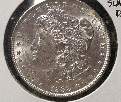 1888 Morgan Silver Dollar Vam 1