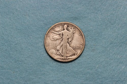 1917 P Walking Liberty Half Dollar