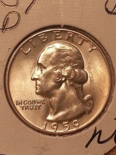 1959-D Washington Quarter