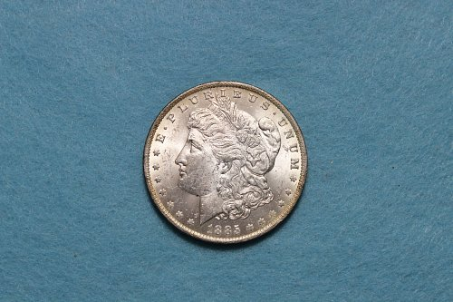 1885 O Morgan Dollar