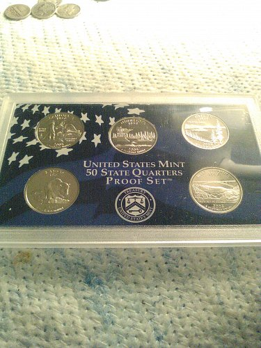 2005 STATE QUARTERS PROOF SET