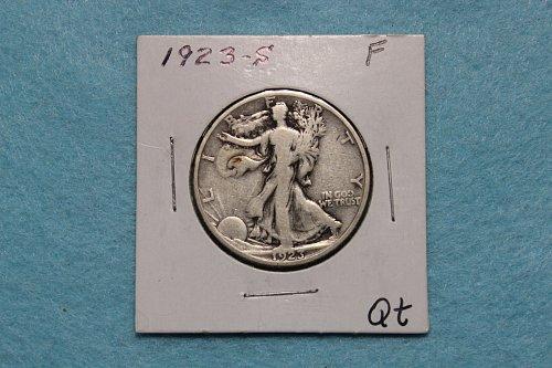 1923 S Walking Liberty Half Dollar