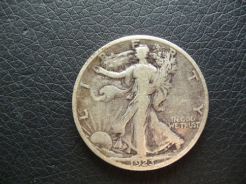 1923 - S  Walking Liberty Half Dollar