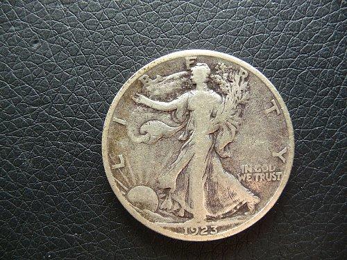 1923 - S  Walking Liberty Half Dollar