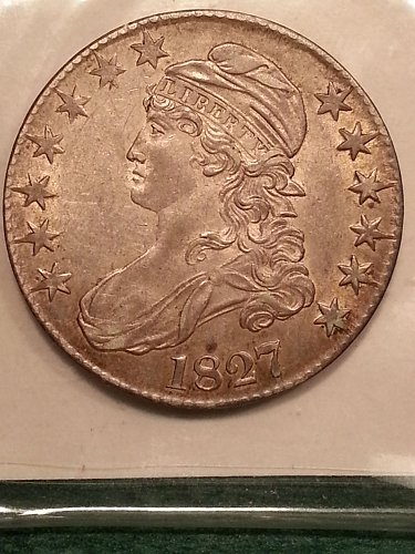 1827 Capped Bust Half