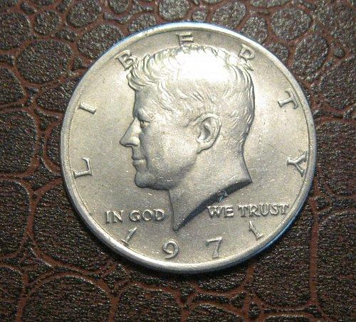 1971 P Kennedy Half Dollar