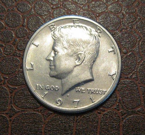 1971 D Kennedy Half Dollar