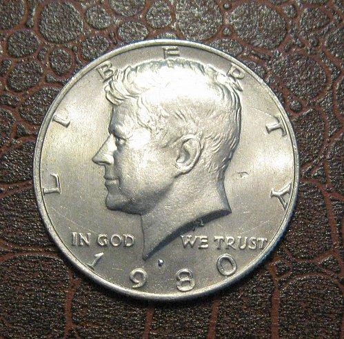 1980 P Kennedy Half Dollar