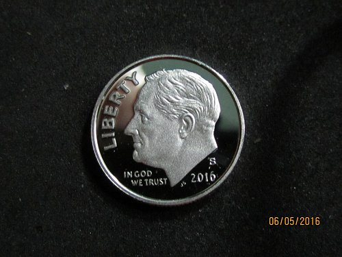 2016 S SILVER DIME DCAM BEAUTY OF A COIN
