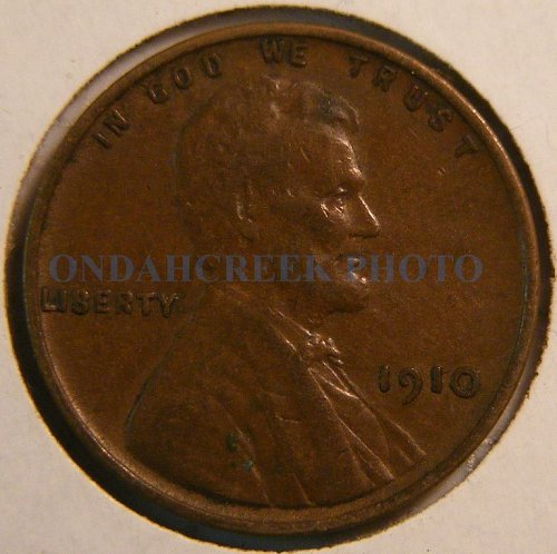 1910 Lincoln Cent VF