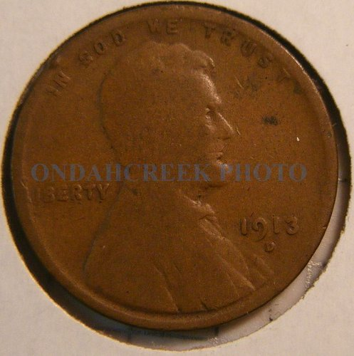 1913-D Lincoln Cent Good
