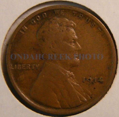 1914 Lincoln Cent Fine