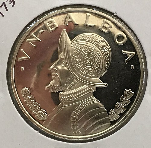 1973 Panama Balboa .900 Silver - Proof