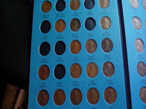 1909 -1941 WHEAT PENNY COLLECTION - A FEW SEE DESCRIPTION 4 DETAILS