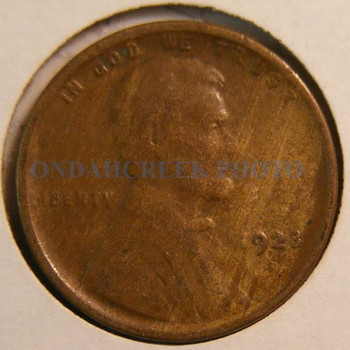 1923-S Lincoln Cent XF Woody