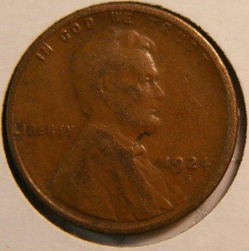 1924-S Lincoln Cent Fine