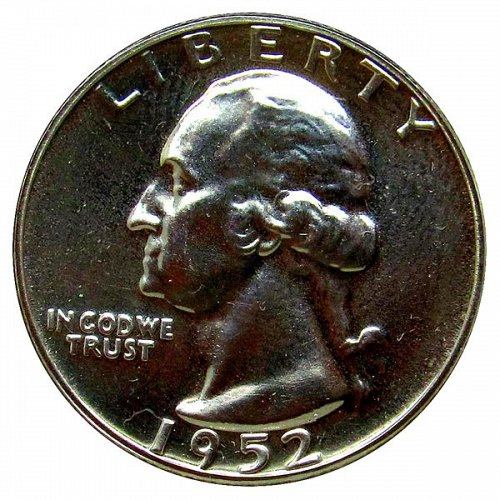 1952 Proof Washington Quarter
