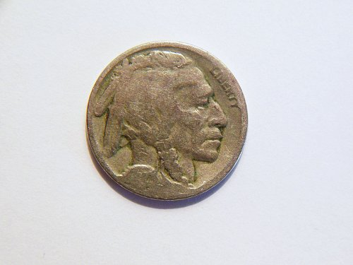 1927-P Buffalo Nickel