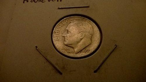 1950-S Roosevelt Dime, VF (35)