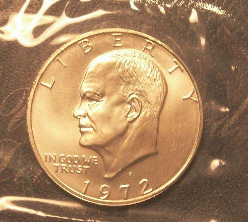1972 s Eisenhower Silver Dollar Unc