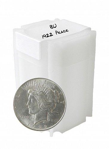 1922 Silver Peace Dollar BU lot of 20